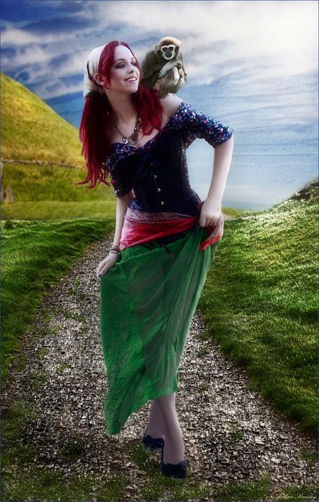 Gypsy Day - Art by Arthur Ramsey
