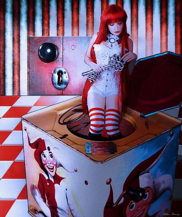 Emilie Autumn Ticket Master - Art by Arthur Ramsey