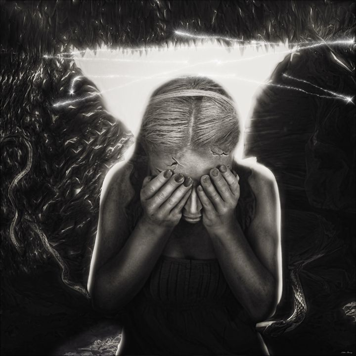 Afraid of the Light - Art by Arthur Ramsey