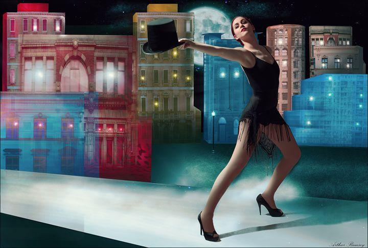 Broadway - Art by Arthur Ramsey