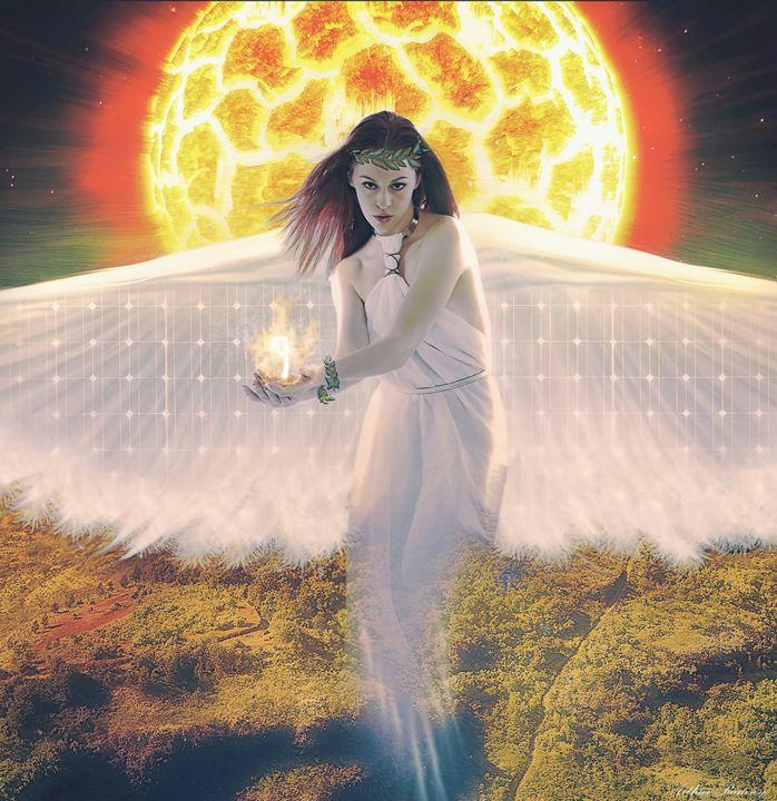 Solar Power - Art by Arthur Ramsey