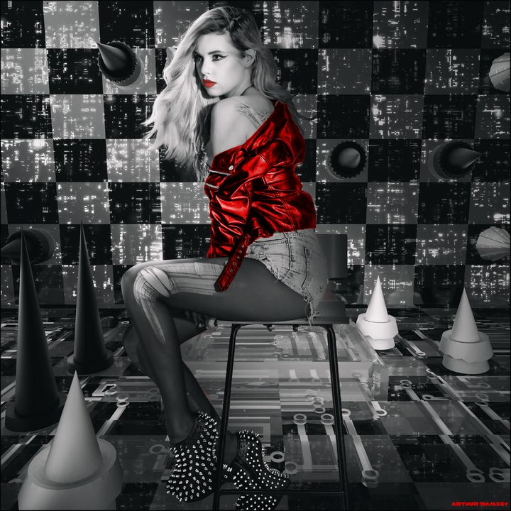 Sin City Game of Spikes - Art by Arthur Ramsey