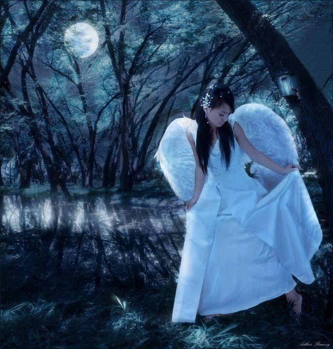 Summer Angel - Art by Arthur Ramsey