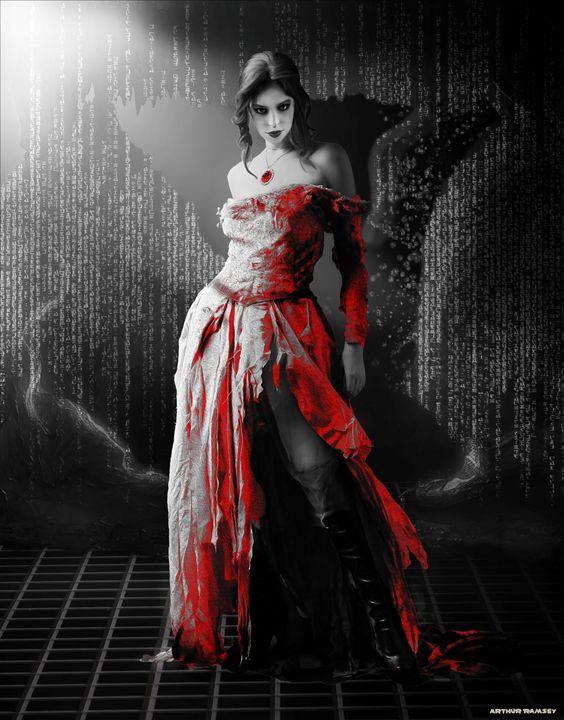 Sin City Faemonia - Art by Arthur Ramsey