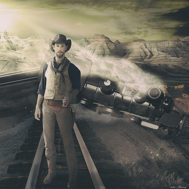 Jesse James - Art by Arthur Ramsey