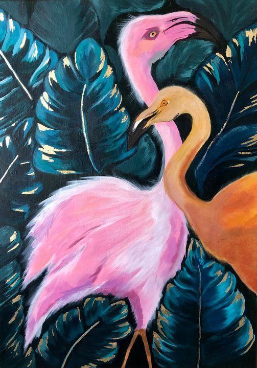 Flamingo - ART INTERIOR