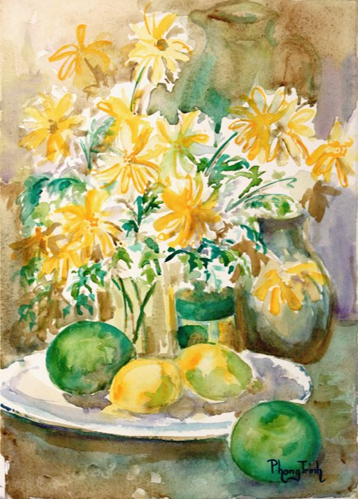 LEMON FRESH - Phong Trinh Watercolor