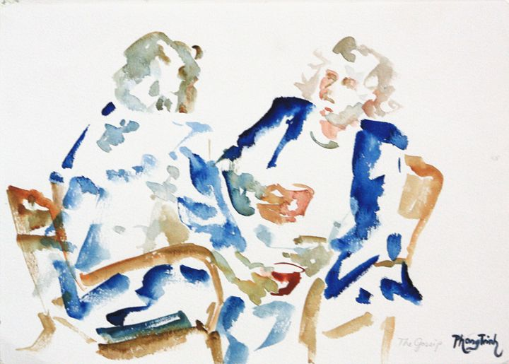FRIENDS - Phong Trinh Watercolor
