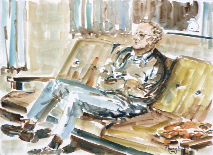 HOME ALONE - Phong Trinh Watercolor