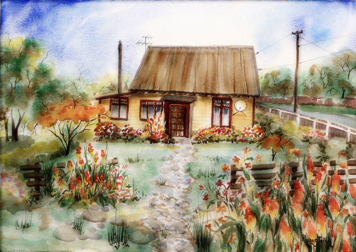 SWEET HOME - Phong Trinh Watercolor