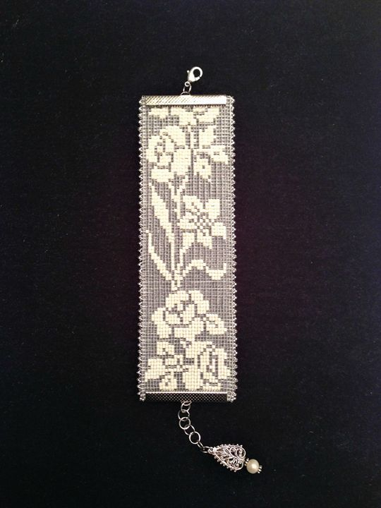 """""""Lily Rose"""" - Handcrafted Jewelry by Patricia Bowe Designs"""