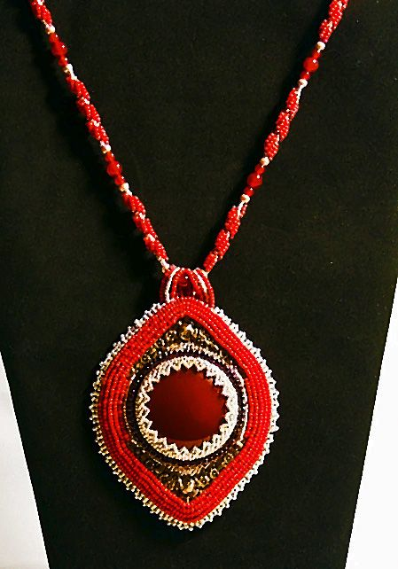 """Indira"" - Handcrafted Jewelry by Patricia Bowe Designs"