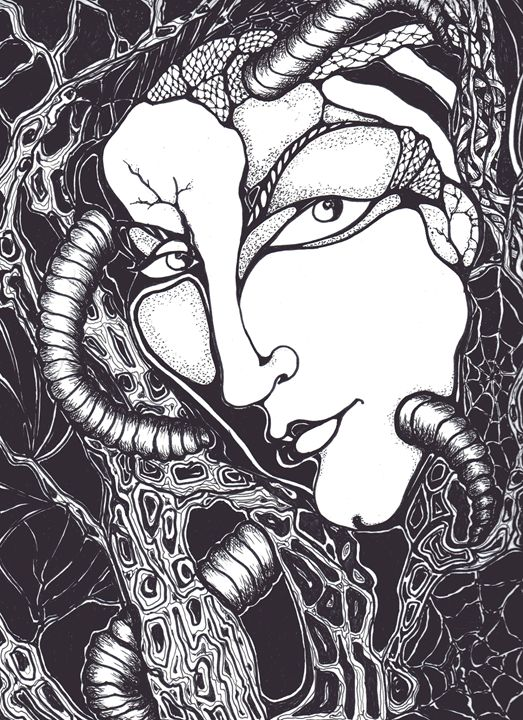 Doubt - Art by Rae Chichilnitsky