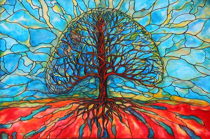 Tree of Life - Art by Rae Chichilnitsky