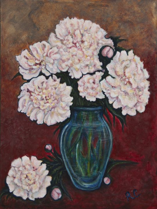 Peonies - Art by Rae Chichilnitsky