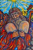 Moses - Painting by R. Chichilnitsky