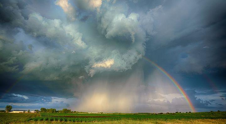 Ying/Yang of weather - Davison Photography LLC