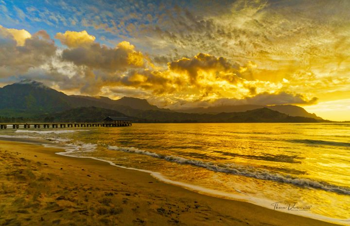 Sunset Pier - Davison Photography LLC