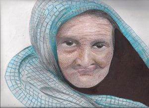 Indian Old woman