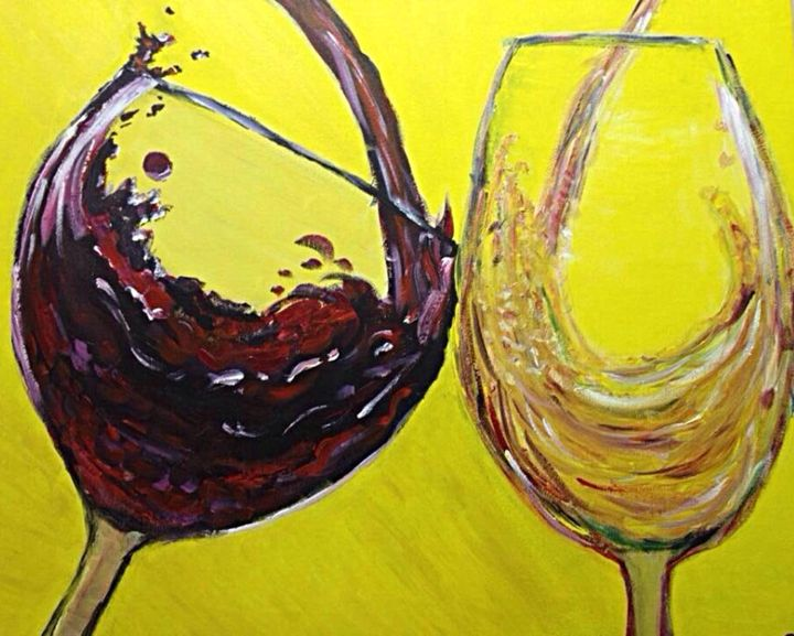 Two Glasses - Brittanny Sylvester