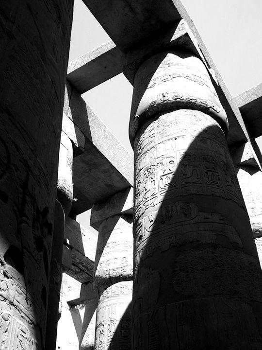 Shadows at Karnak - DANIEL RAVEL PHOTOGRAPHY