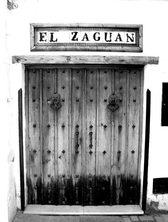 Andalusian Doorway - DANIEL RAVEL PHOTOGRAPHY