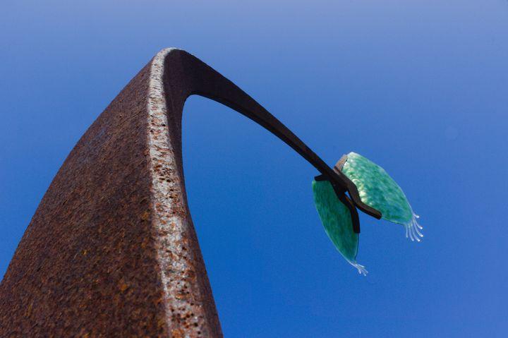 Venus Flytrap Sculpture - DANIEL RAVEL PHOTOGRAPHY