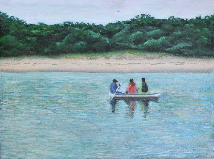 Wild Coast - Paddle your canoe - Suzanne Leighton
