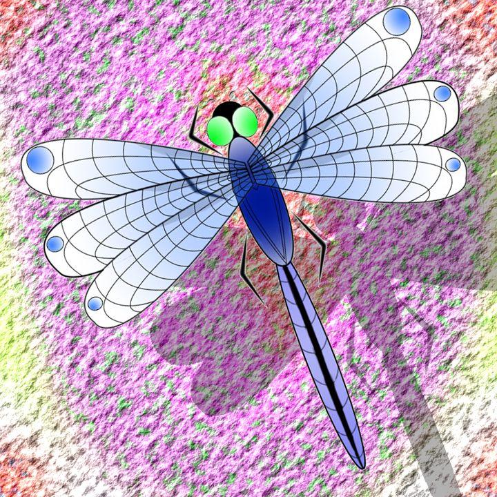 Giant Dragonfly - Joshua C Kurz