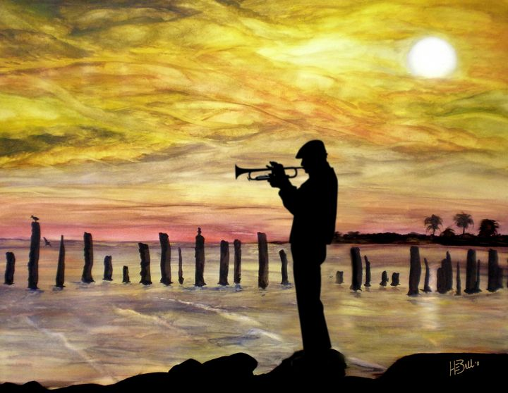 New Orleans Jazz - HEBell Artwork