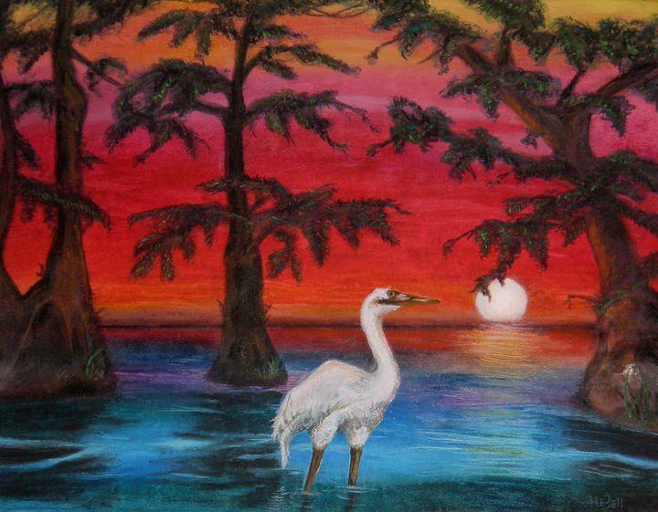 Egret - HEBell Artwork