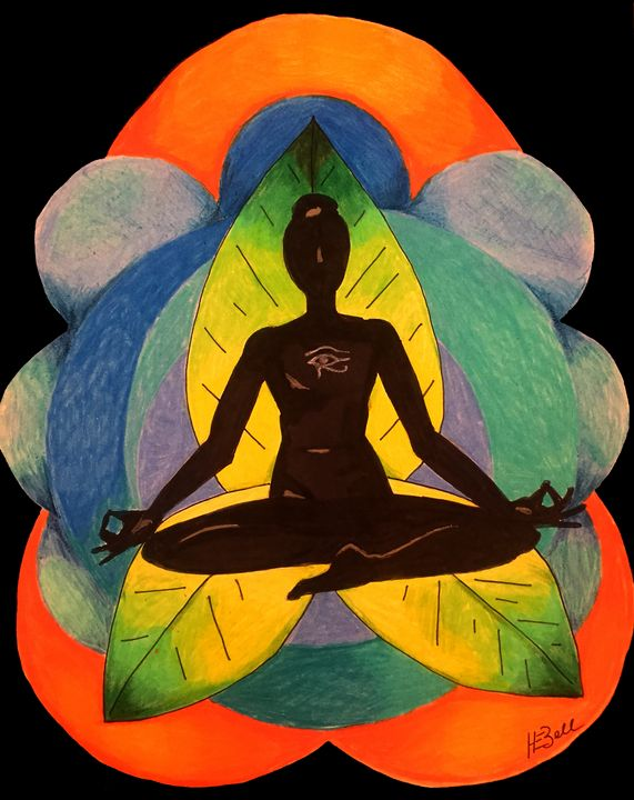 Meditation - HEBell Artwork
