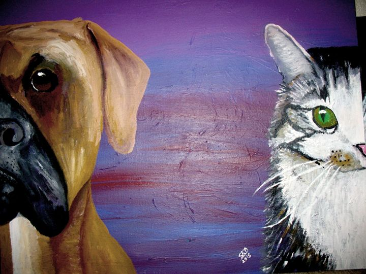 dog and cat - Sibbys
