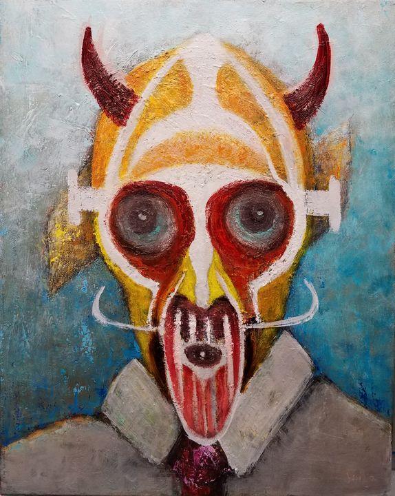Modern Tribe Warrior - Milo Fine Art