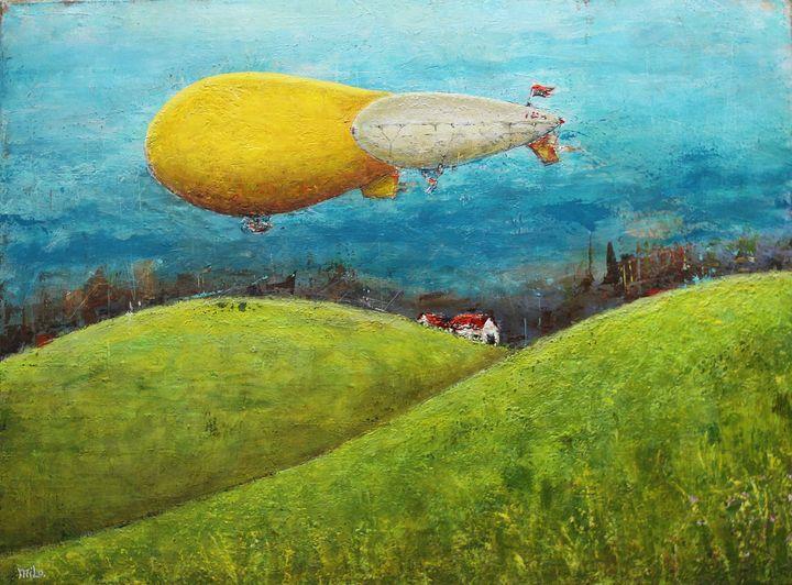 Hot Air Baloons - Milo Fine Art