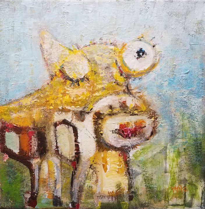 Happy Cow - Milo Fine Art