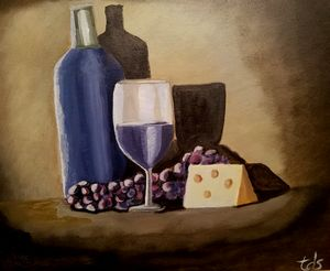 """Wine and Cheese"""