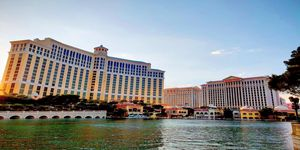 Bellagio Hotel and Caesars Palace