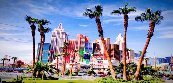 New York New York Hotel - Las Vegas - City View Photographs