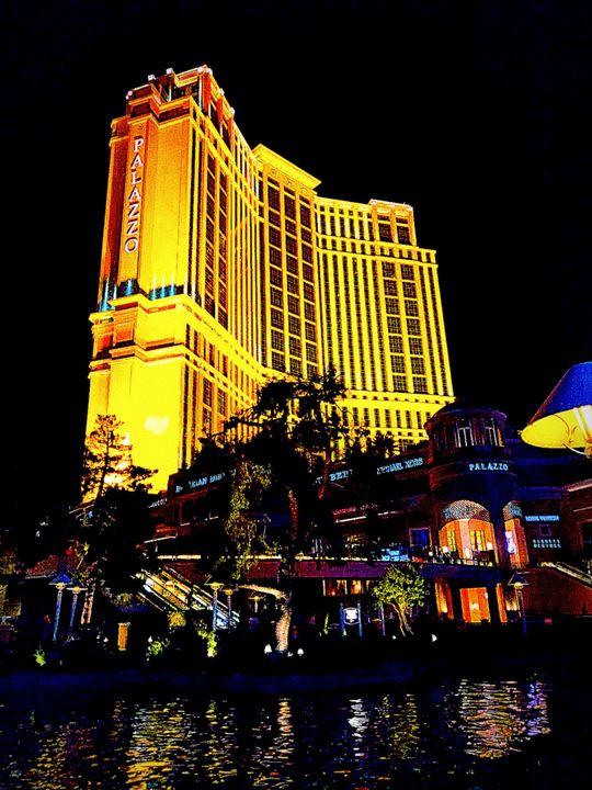 Palazzo Hotel - Las Vegas - City View Photographs
