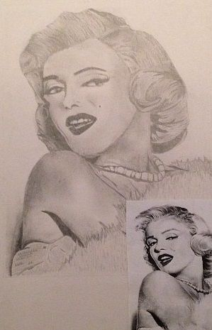 One Off Marilyn Monrow Piece - Rarity Collections