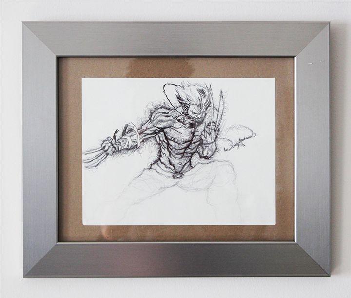 Wolverine Scribble - Tazmatic