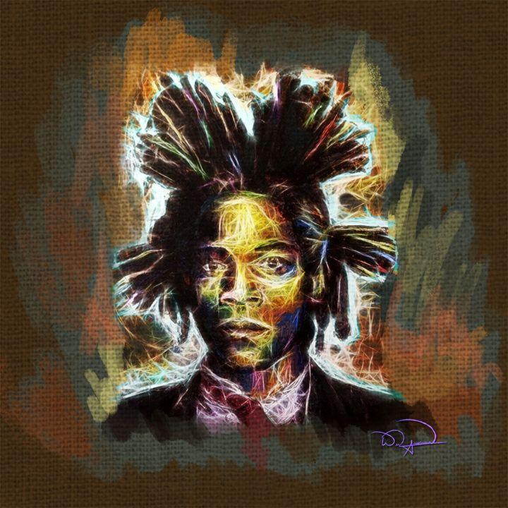 Basquiat Abstracto - Tazmatic