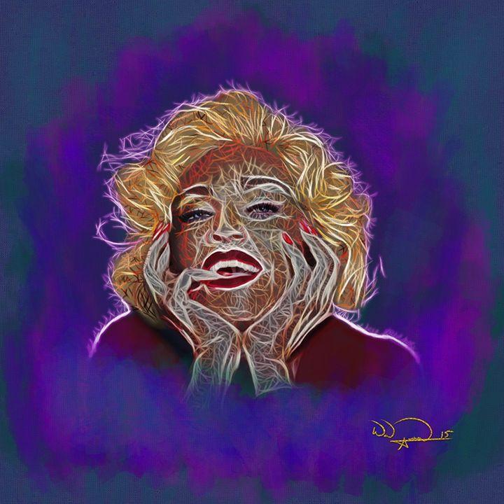 Madonna Abstracto - Tazmatic