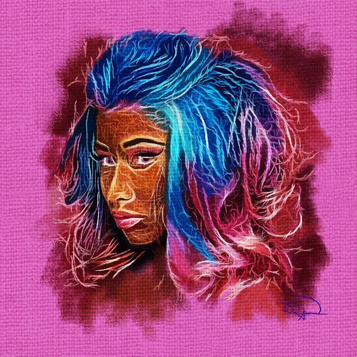 Nicki Minaj Abstracto - Tazmatic