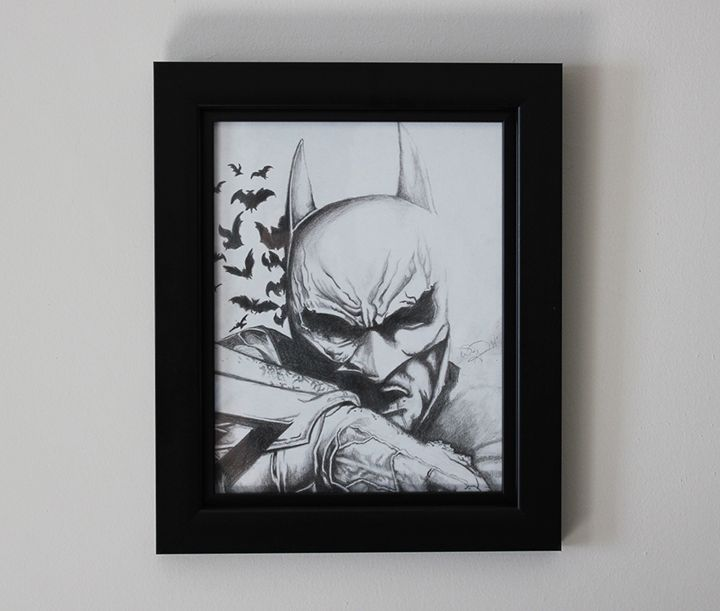 Dark Knight Original Drawing - Tazmatic