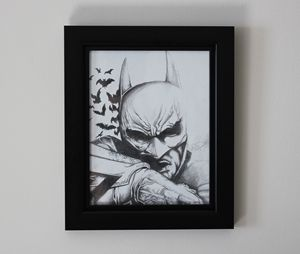 Dark Knight Original Drawing