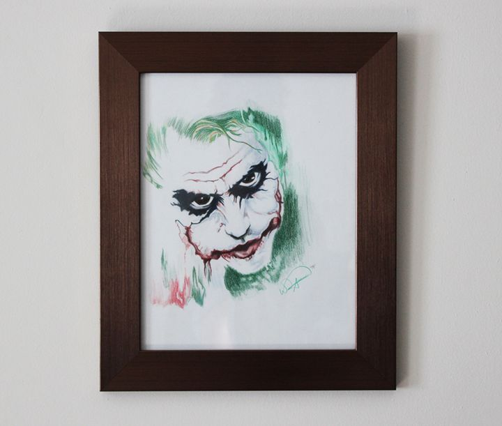 Da Joker Original Drawing - Tazmatic