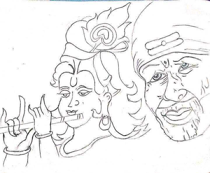 Shri Krishna and Sai Baba - My