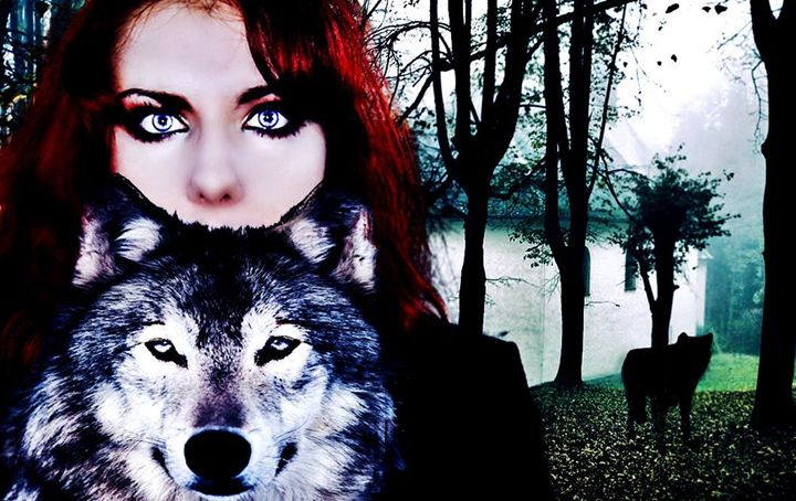 The girl and the wolf - Luciana's Gallery